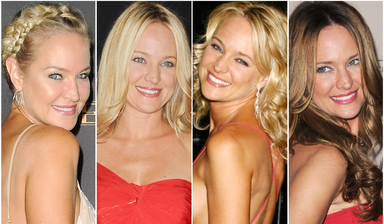 Sharon Case red carpet collage Y&R