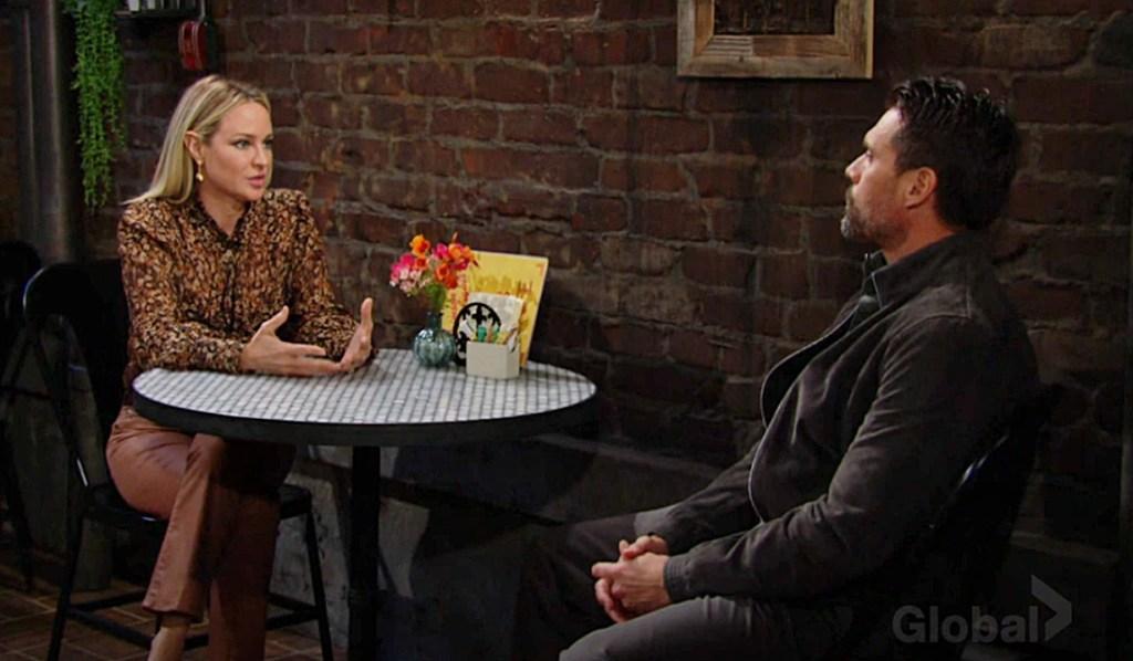Sharon, Nick discuss split Y&R