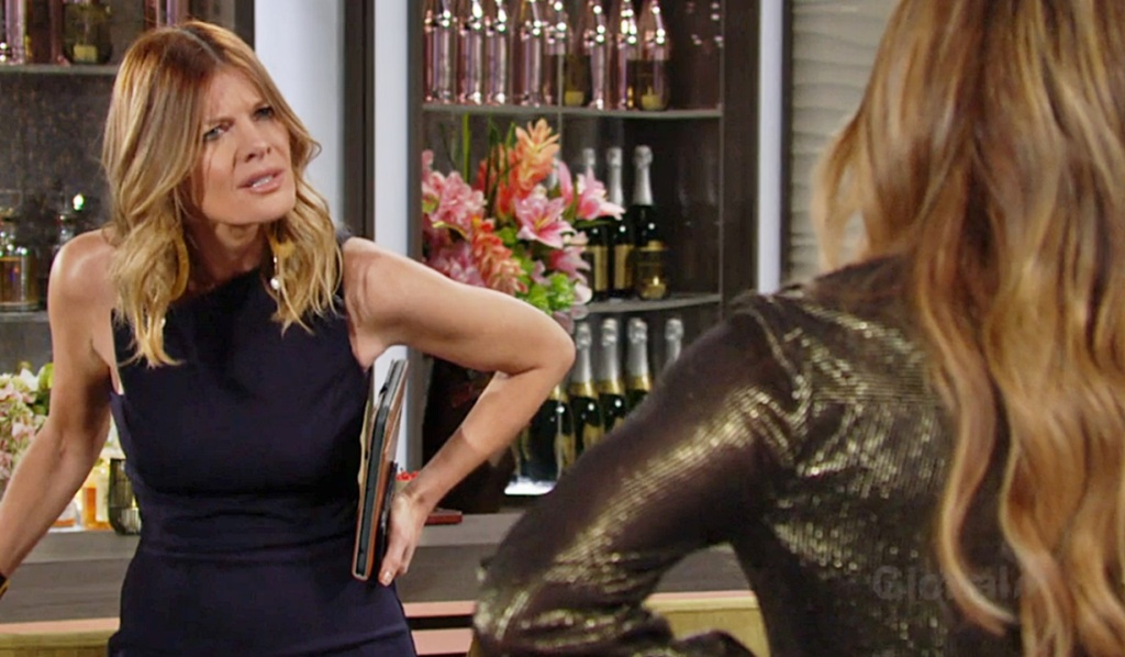 Summer confronts Phyllis Y&R