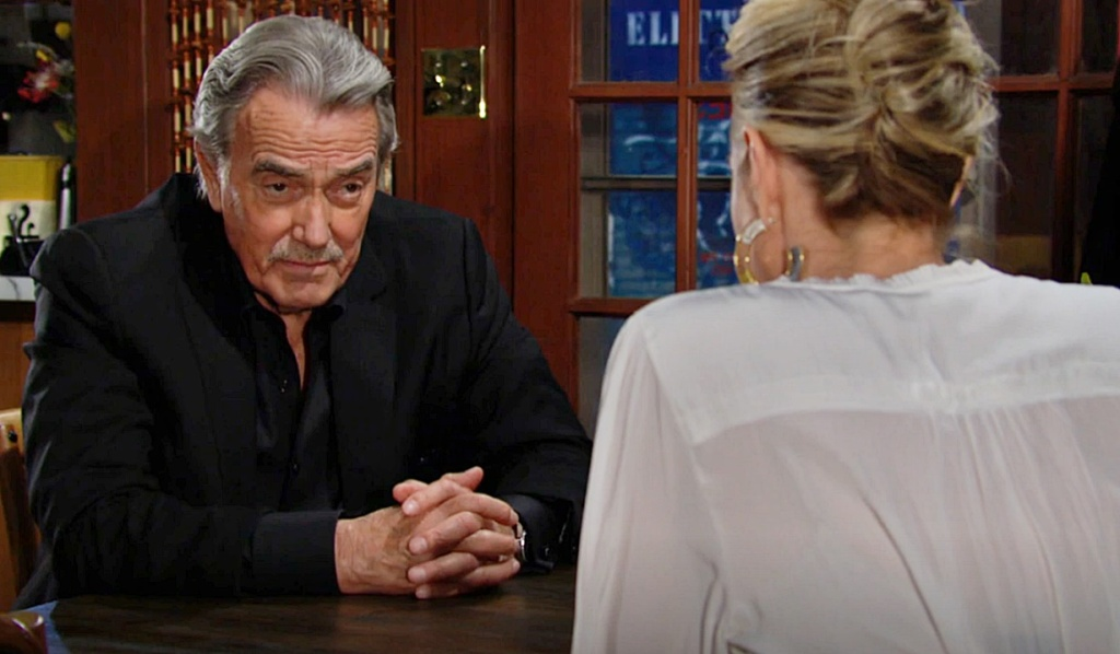 Victor updates Sharon on Adam Y&R