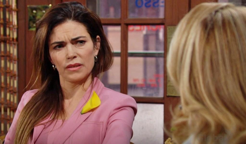 Victoria, Nikki bicker about Victor Y&R