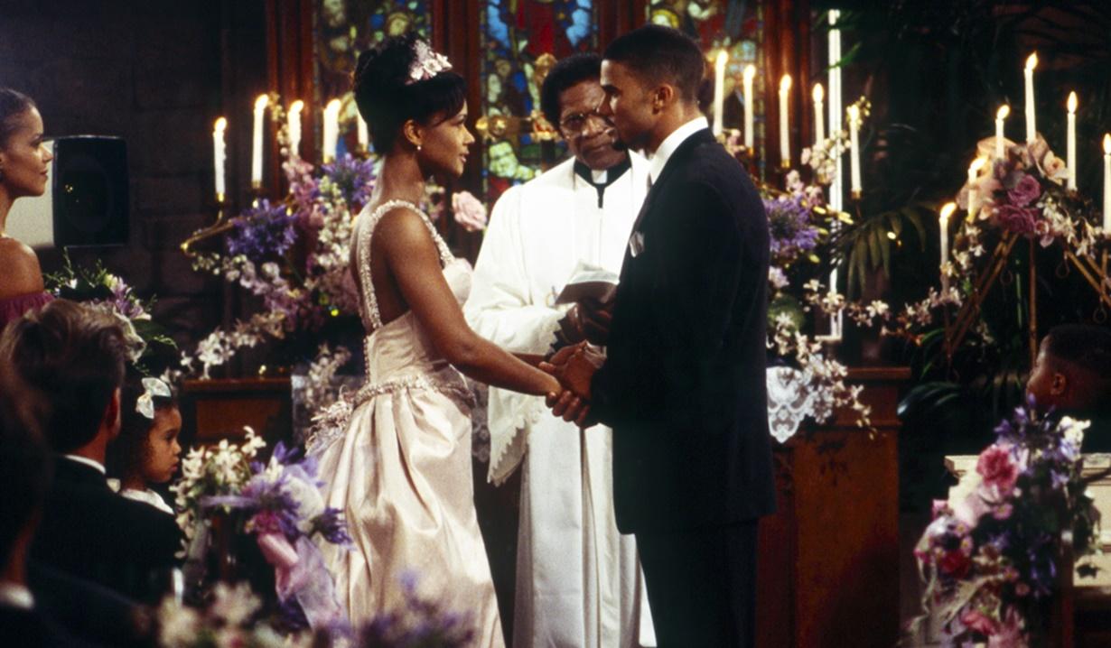 Olivia, Malcolm wedding Y&R