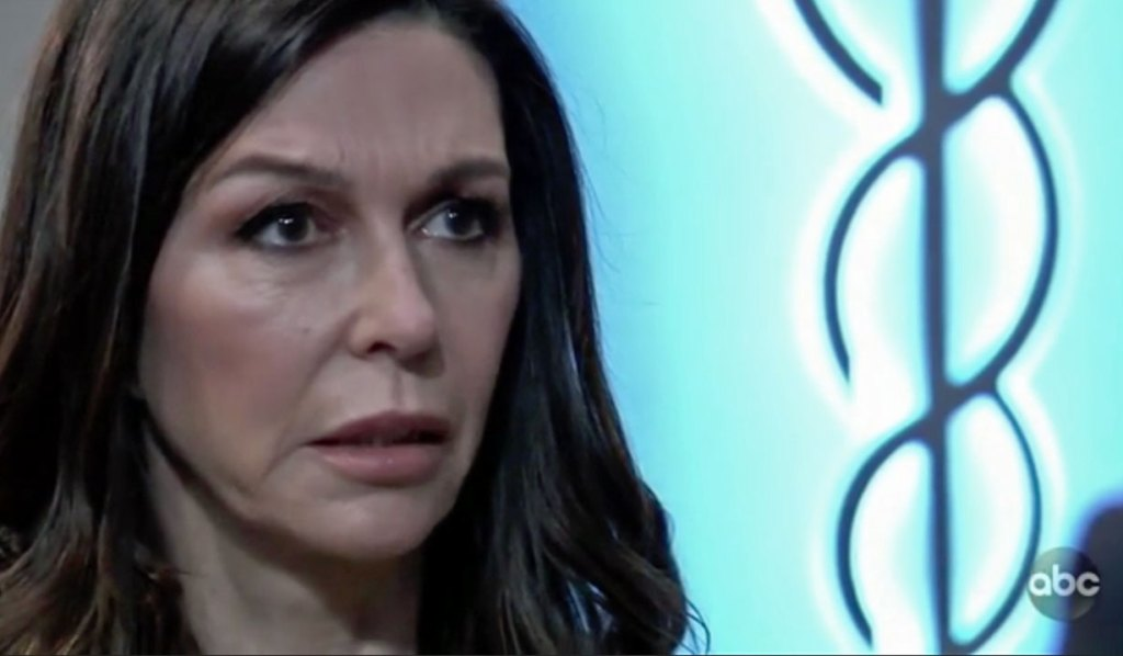 Anna tells Finn about the poison GH