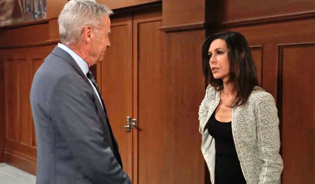 Anna and Robert in court for Jason GH
