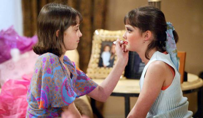 """Kylie Tyndell and Keaton Tyndell """"The Bold and the Beautiful"""" steffy phoebe am 2004"""