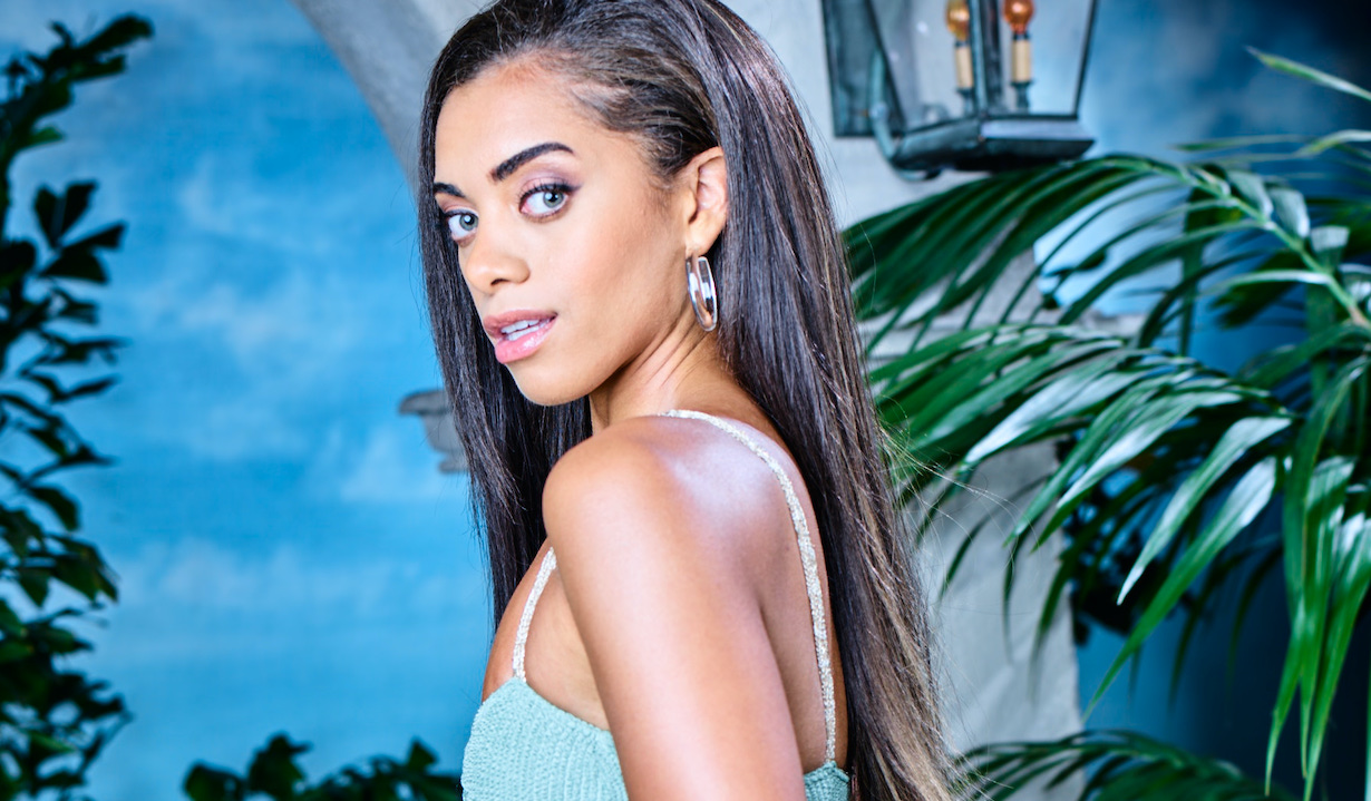 Kiara Barnes zoe gallery of the CBS series THE BOLD AND THE BEAUTIFUL, Weekdays (1:30-2:00 PM, ET; 12:30-1:00 PM, PT) on the CBS Television Network. Photo: Sean Smith/Bell-Phillip TV/CBS ©2019 CBS Broadcasting, Inc. All Rights Reserved