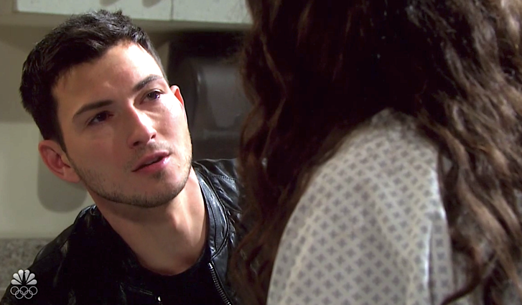 Ben begs Ciara to stay in Salem on Days of Our Lives