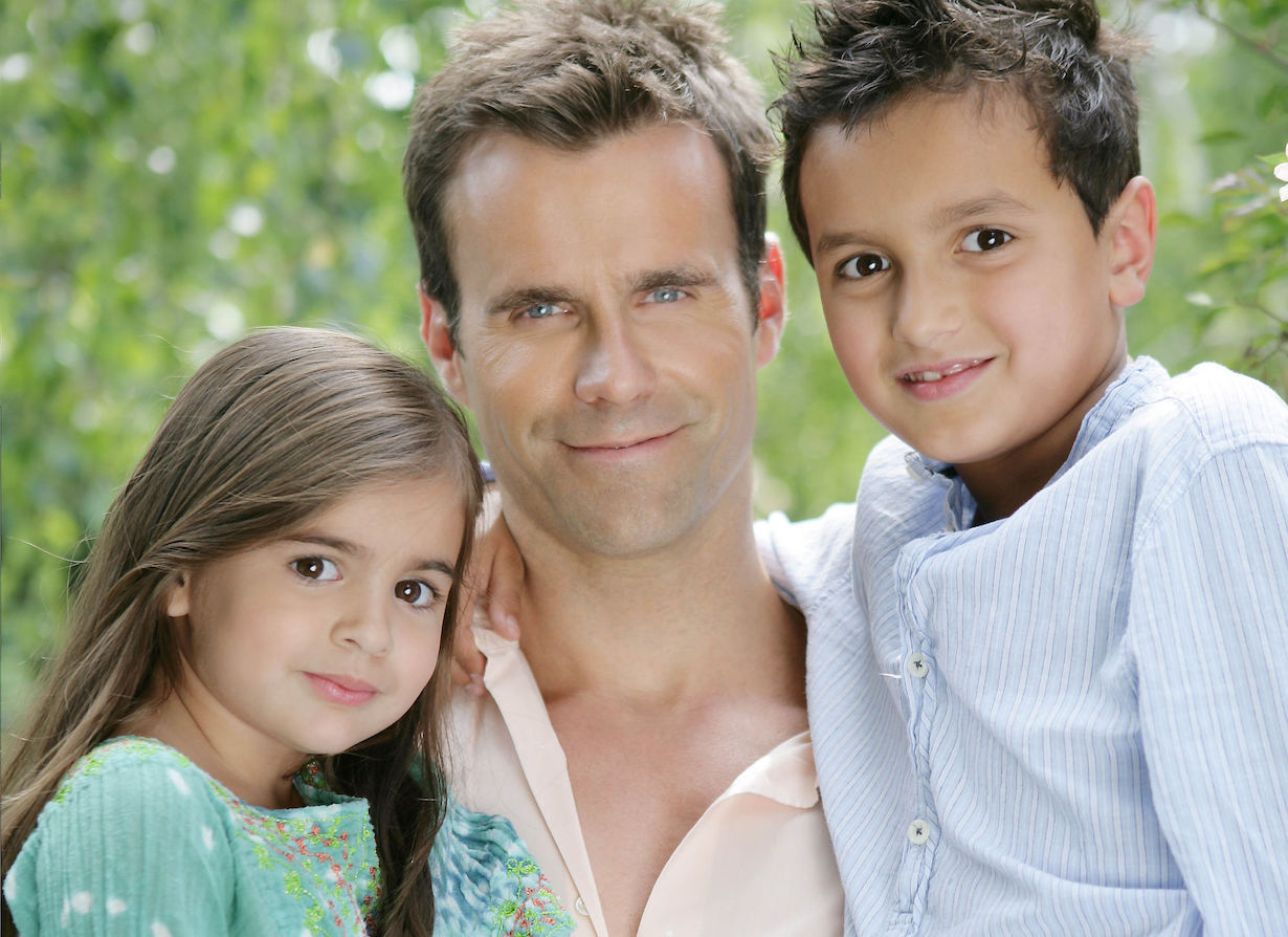 Cameron Mathison, Son Lucas, Daughter Leila Cameron Mathison Photo Shoot Los Angles 6/2/10 ©John Paschal/jpistudios.com 310-657-9661