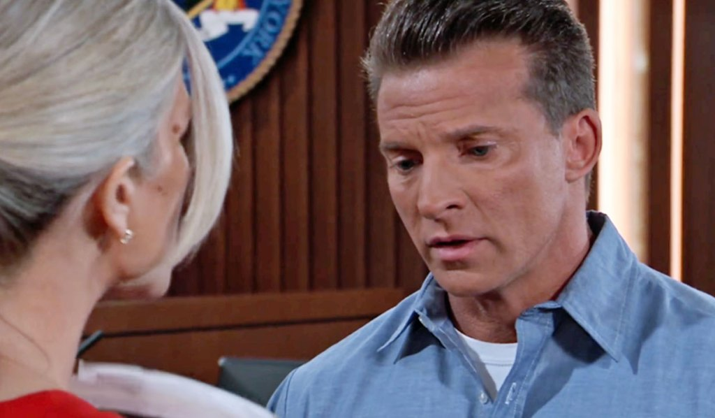 Carly plots with Jason on GH