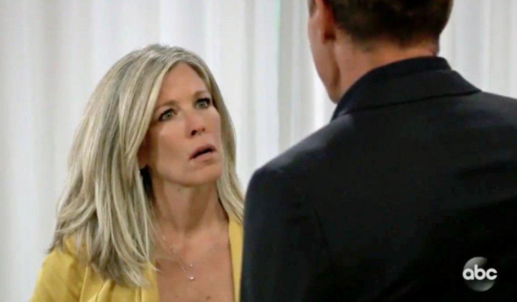 Carly learns Joss hurt GH
