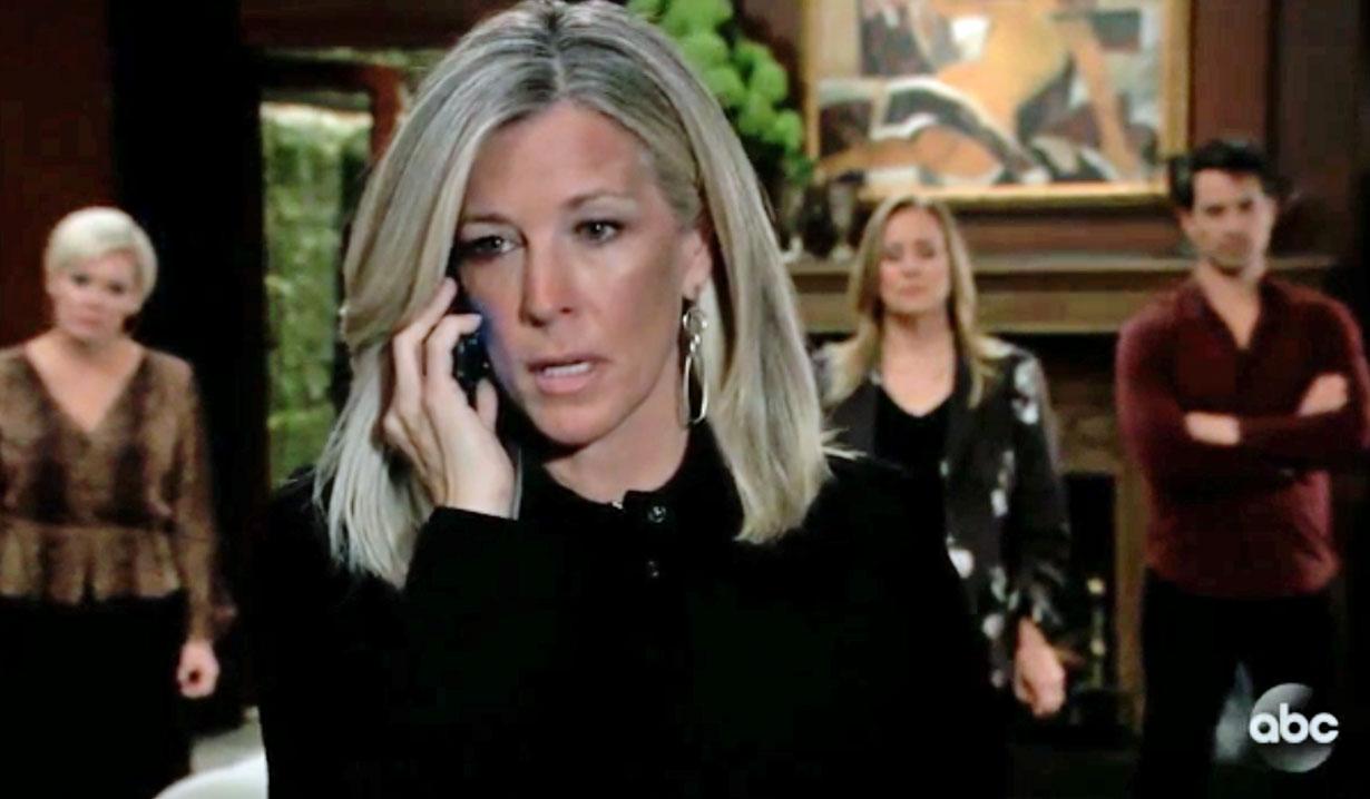 Carly makes a call GH