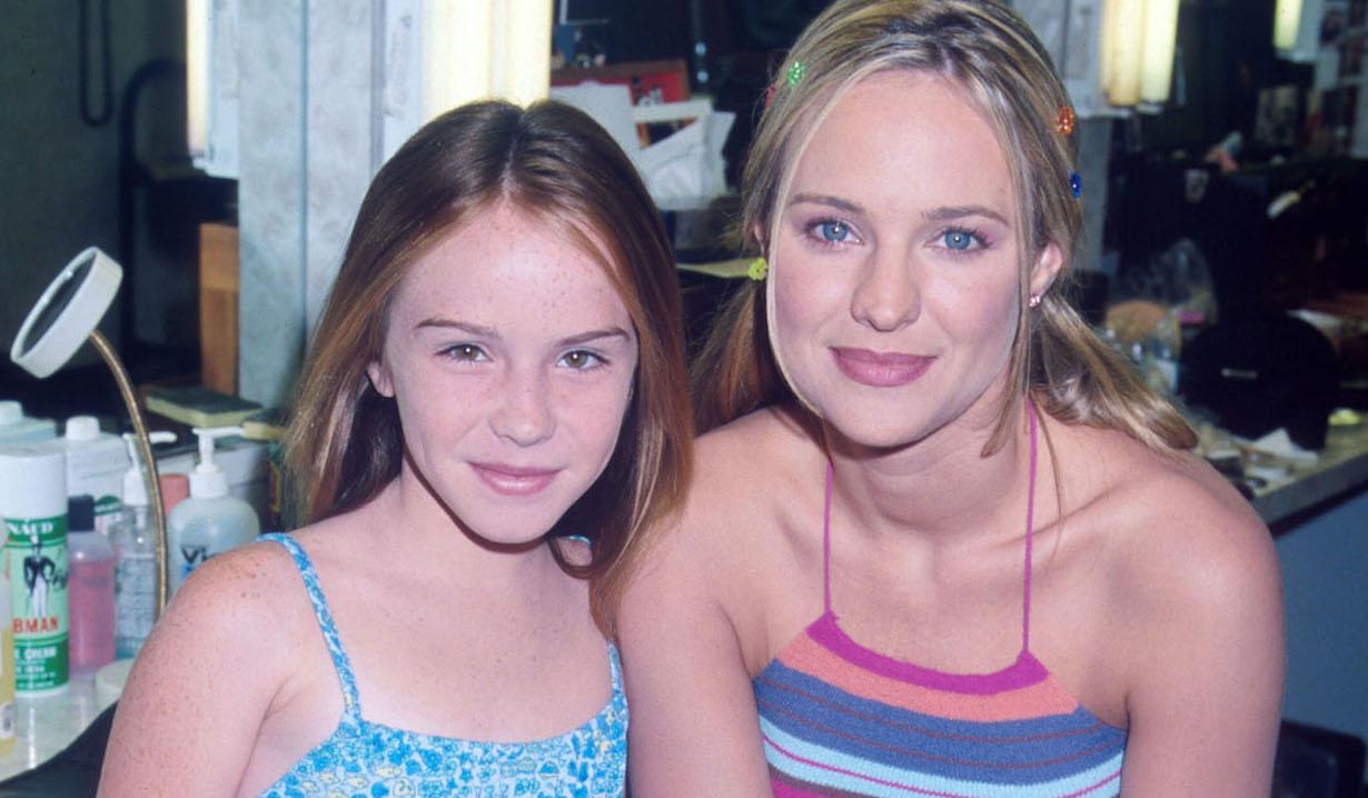 Sharon Case and Camryn Grimes 2000 yr cassie sharon am