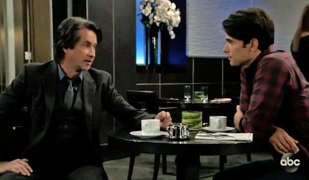 Finn and Chase talk GH