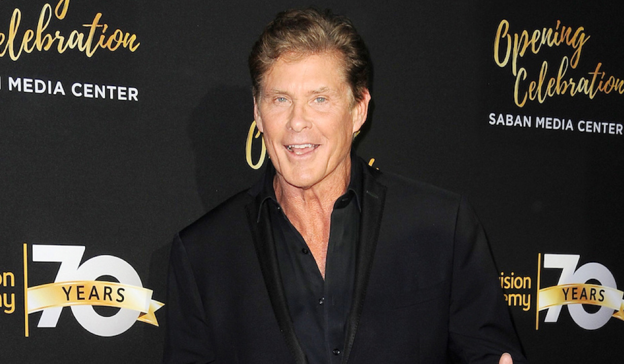 David Hasselhoff Television Academy Celebrates 70th Anniversary With Star Studded Gala and Opening of State Of The Art Saban Media Center The Television Academy North Hollywood, CA 6/2/16 © Jill Johnson/jpistudios.com 310-657-9661