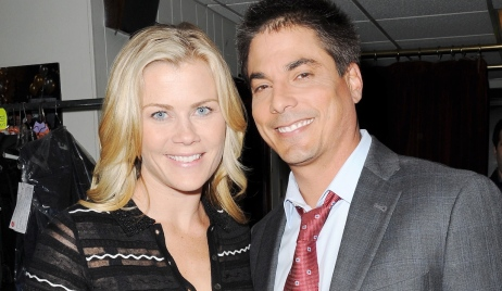 "sami lucas Alison Sweeney, Bryan Dattilo""Days of our Lives"" SetNBC StudiosBurbank05/07/15© JJohnson/jpistudios.com310-657-9661"