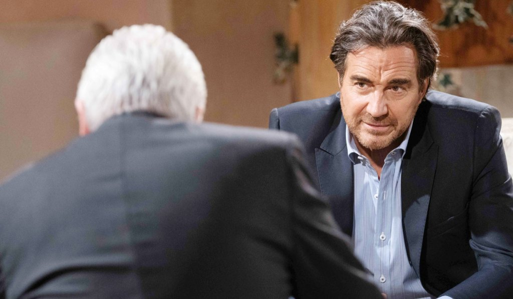 ridge listens as eric confides personal issues bb