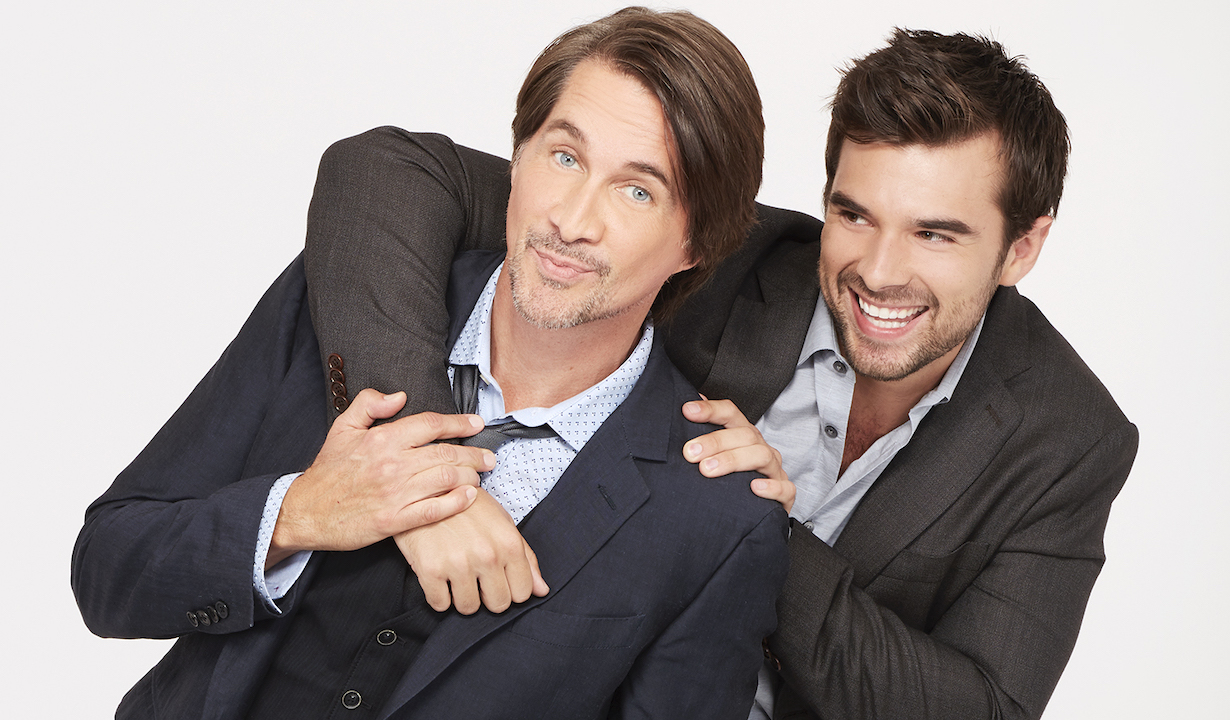 "GENERAL HOSPITAL - The Emmy-winning daytime drama ""General Hospital"" airs Monday-Friday (3:00 p.m. - 4:00 p.m., ET) on the ABC Television Network. GH18(ABC/Craig Sjodin)MICHAEL EASTON, JOSH SWICKARD"