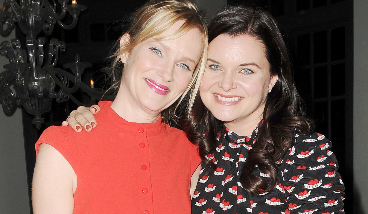 heather tom and her sister bb