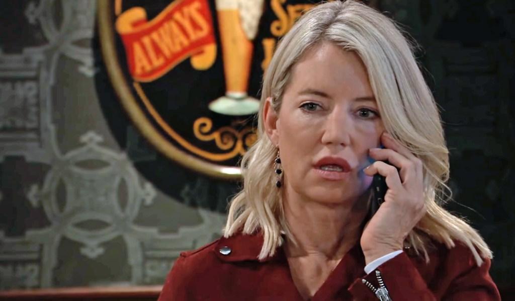 Nina gets call from Jax GH
