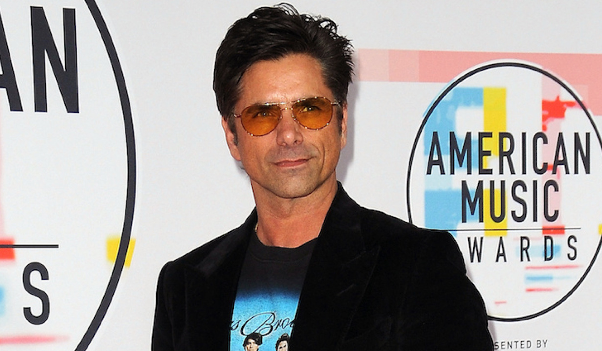John Stamos arrives to the 2018 American Music Awards at Microsoft Theater on October 9, 2018 in Los Angeles, California © Jill Johnson/jpistudios.com 310-657-9661