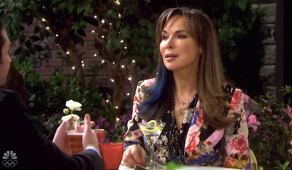Kate has drinks with Jake on Days of Our Lives