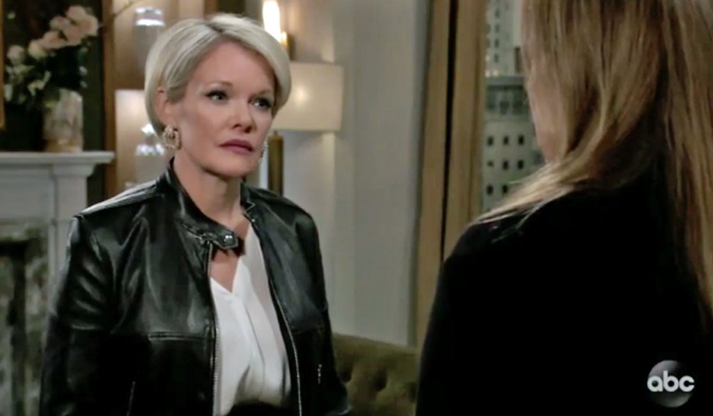 Laura asks Ava for help GH