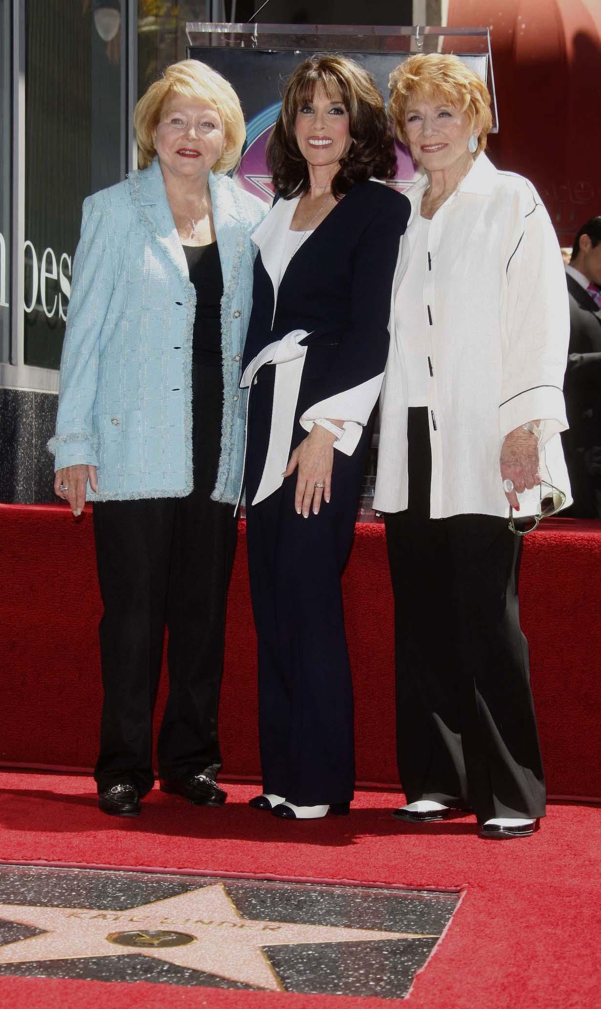 Lee Phillip Bell Kate Linder and Jeannie Cooper