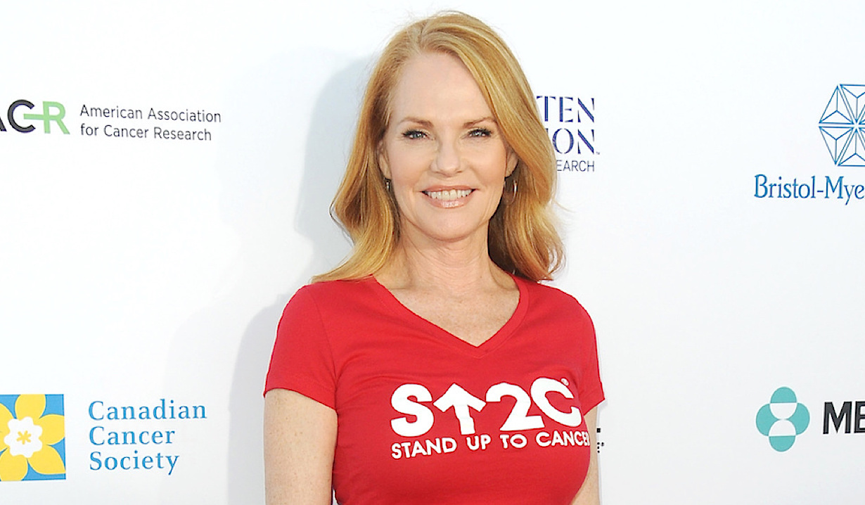 Marg Helgenberger attends the sixth biennial Stand Up To Cancer ( SU2C ) telecast at the Barkar Hangar on Friday, September 7, 2018 in Santa Monica, California © Jill Johnson/jpistudios.com 310-657-9661