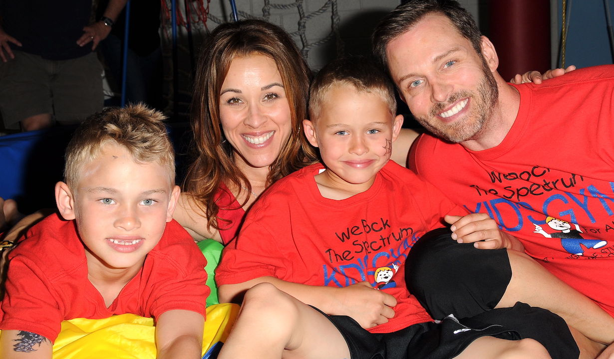 Eric Martsolf, Lisa Martsolf, Kids Chase and Mason Eric Martsolf And Wife Lisa open 'We Rock The Spectrum Kid's Gym' In Studio City, CA We Rock The Spectrum Kid's Gym Studio City, CA 3/30/13 © Jill Johnson/jpistudios.com 310-657-9661