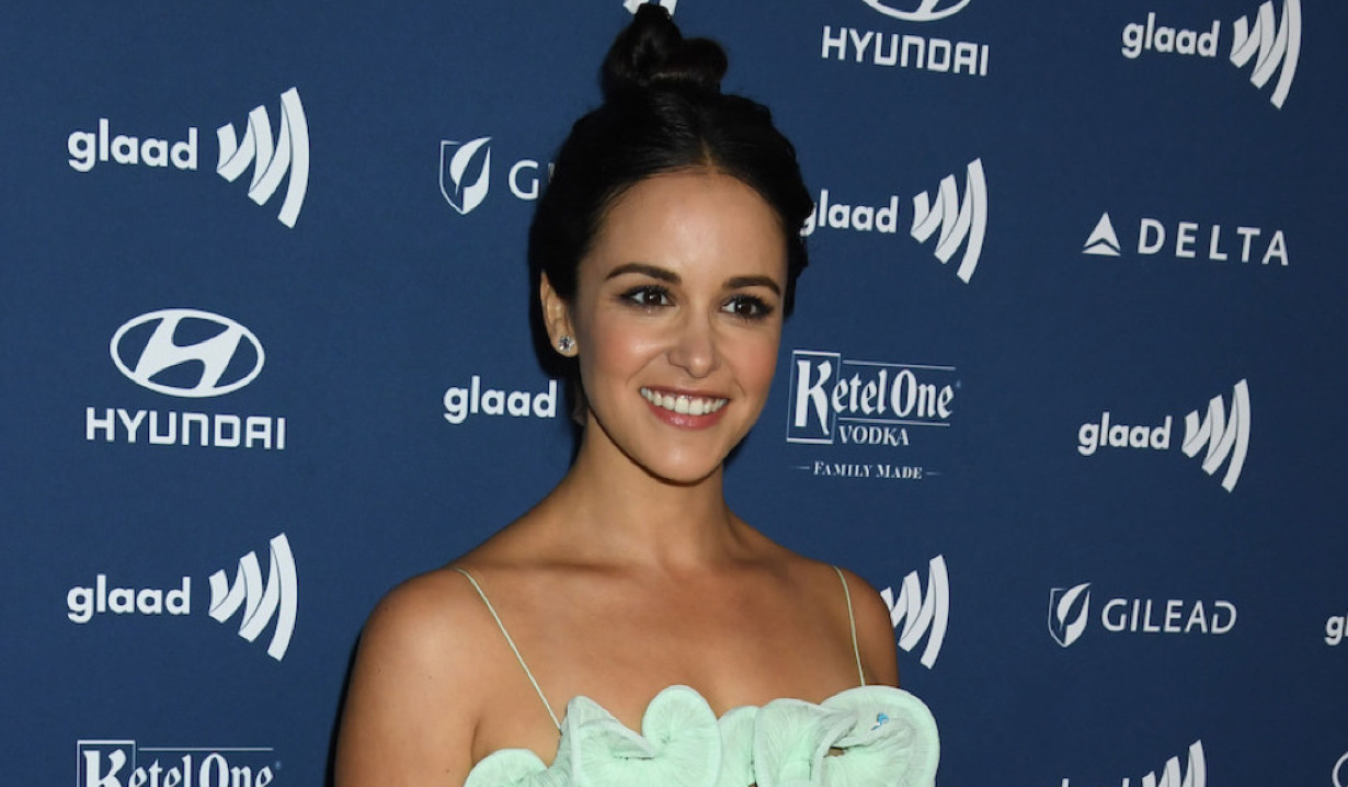 Melissa Fumero arrives at the 30th Annual GLAAD Media Awards, held at the Beverly Hilton Hotel in Beverly Hills California on Thursday, March 28, 2019 © J Graylock/jpistudios.com 310-657-9661