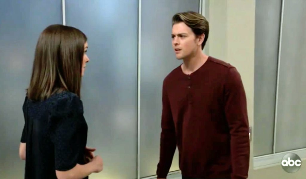 Michael and Willow discuss Chase GH