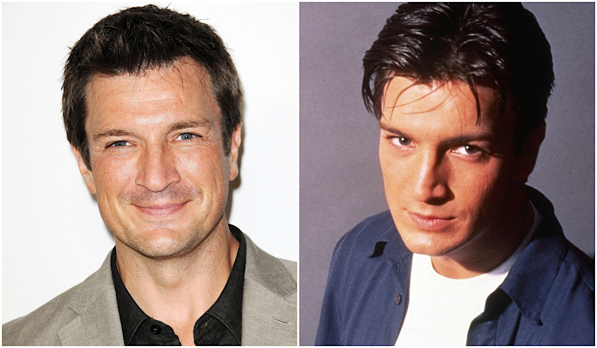 Nathan Fillion anniversary Joey Buchanan on One Life to Live