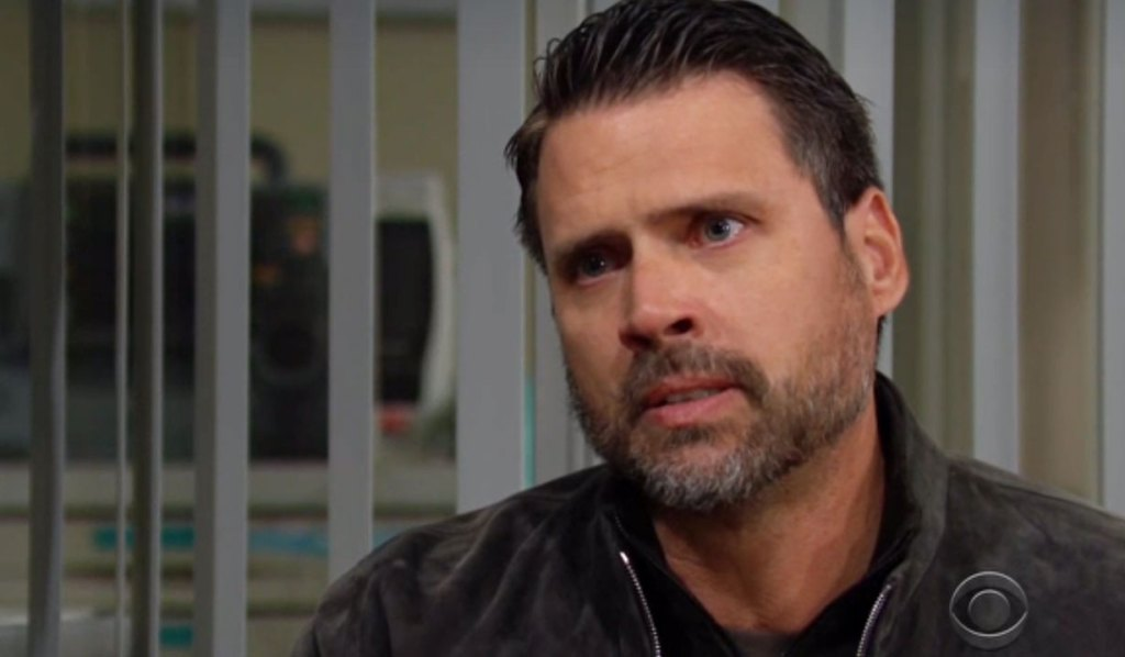 nick gets kidney news about faith from nate Y&R