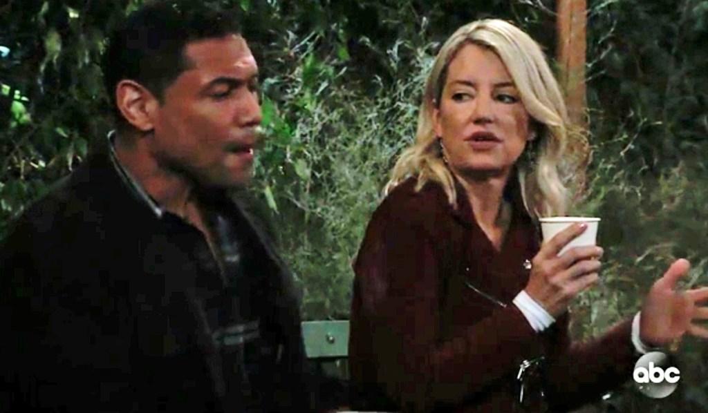 Elijah gives Nina a tour GH