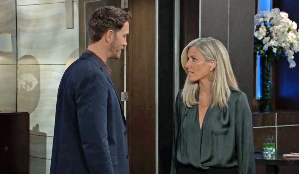 Peter threatens Carly GH