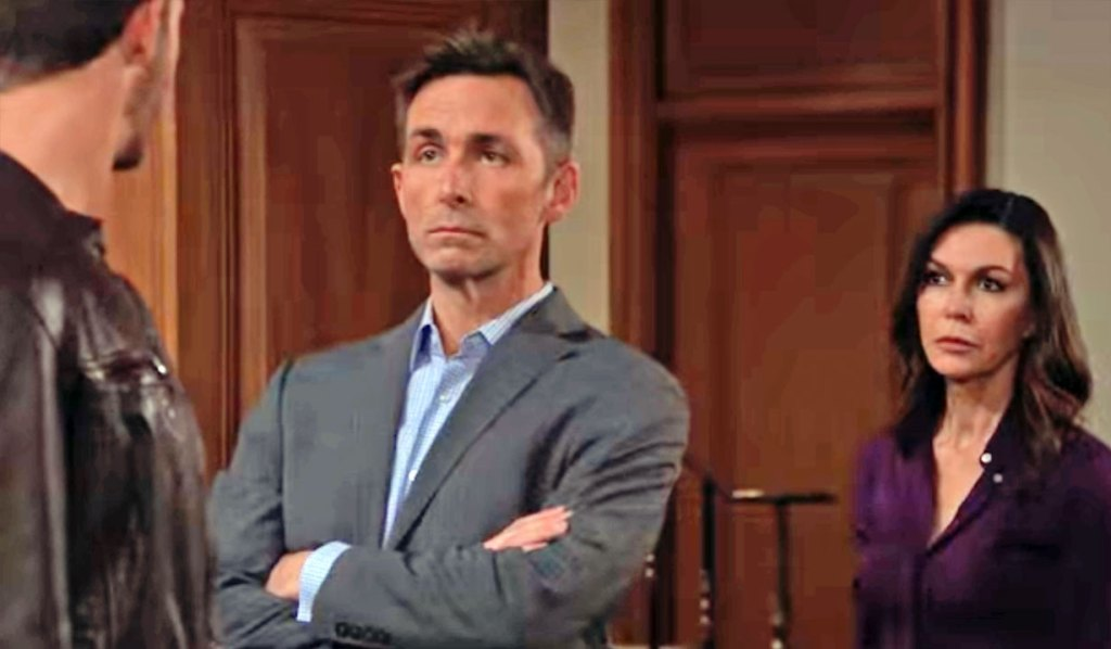 Anna and Valentin are not amused GH
