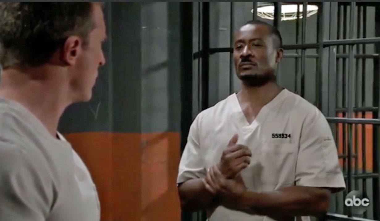 Shawn in prison GH