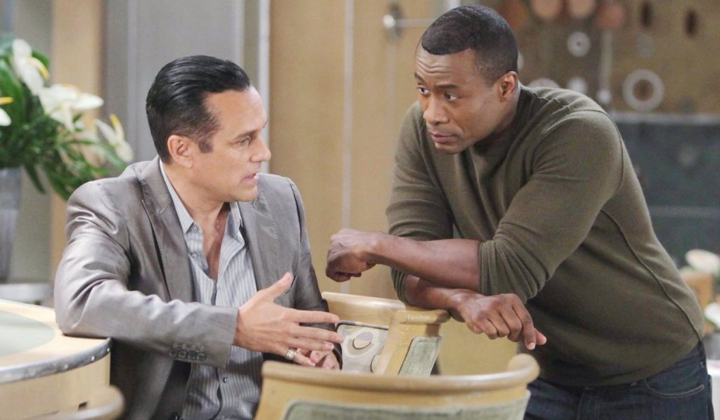 Shawn and Sonny on General Hospital