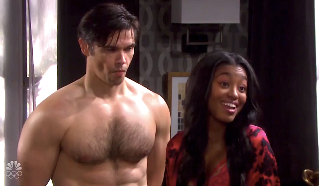 Chanel happily shows off her husband Xander on Days of Our Lives