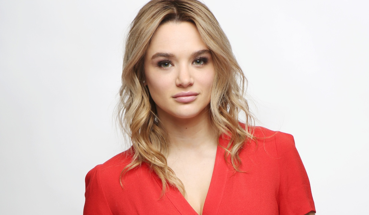"""Hunter King summer gallery hw """"The Young and the Restless"""" Set Photo ShootCBS television CityLos Angeles02/11/19© Howard Wise/jpistudios.com310-657-9661"""