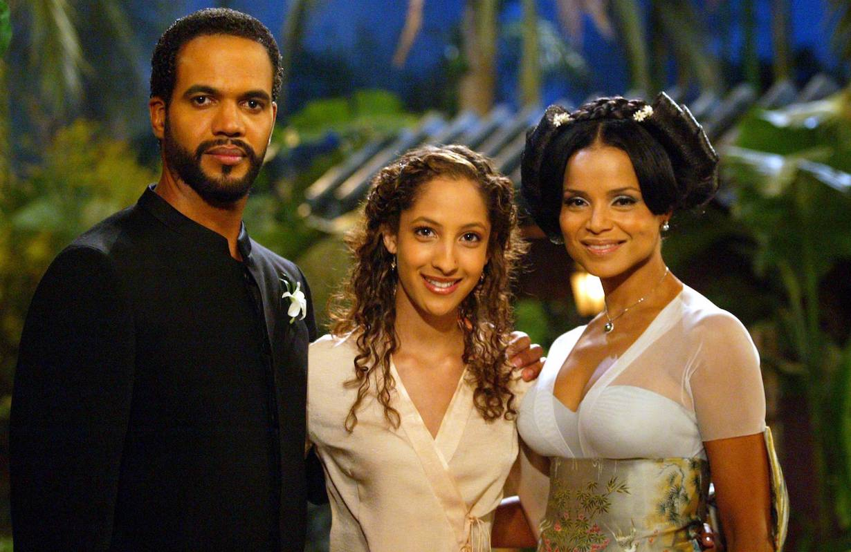Victoria Rowell, Kristoff St. John and Christel Khalil dru lily neil wedding
