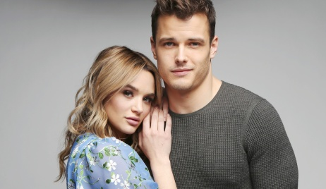 """kyle summer gallery Michael Mealor, Hunter King""""The Young and the Restless"""" Set Photo ShootCBS television CityLos Angeles02/11/19© Howard Wise/jpistudios.com310-657-9661"""