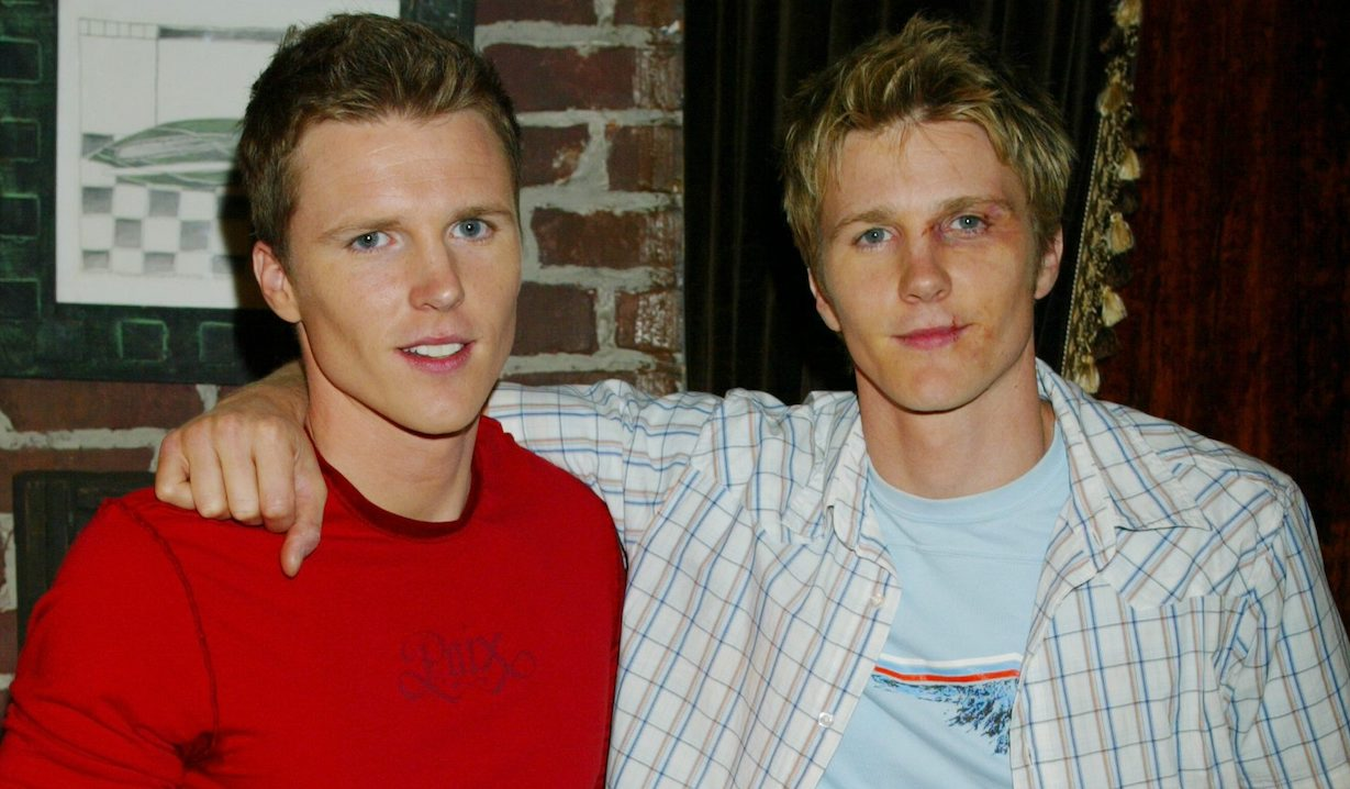 """Thad Luckinbill, Brother Tent Luckinbill""""The Young and the Restless"""" SetCBS Television City7/5//05©Aaron Montgomery/jpistudios.com310-657-9661"""