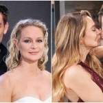 Adam, Sharon, Summer, Kyle collage Y&R