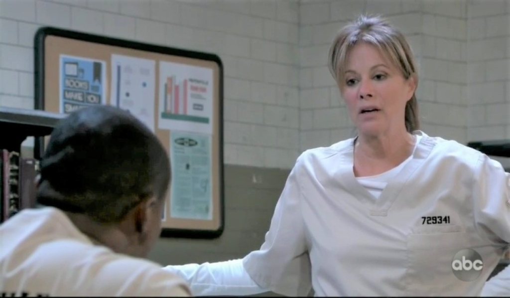 Alexis and Shawn talk parole in Pentonville General Hospital