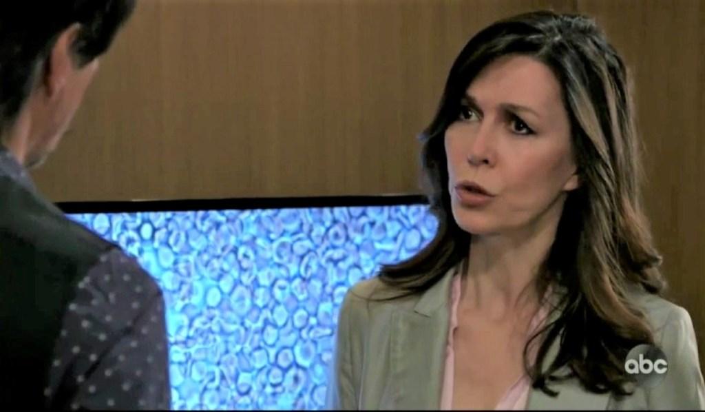 Anna checks on Finn at General Hospital