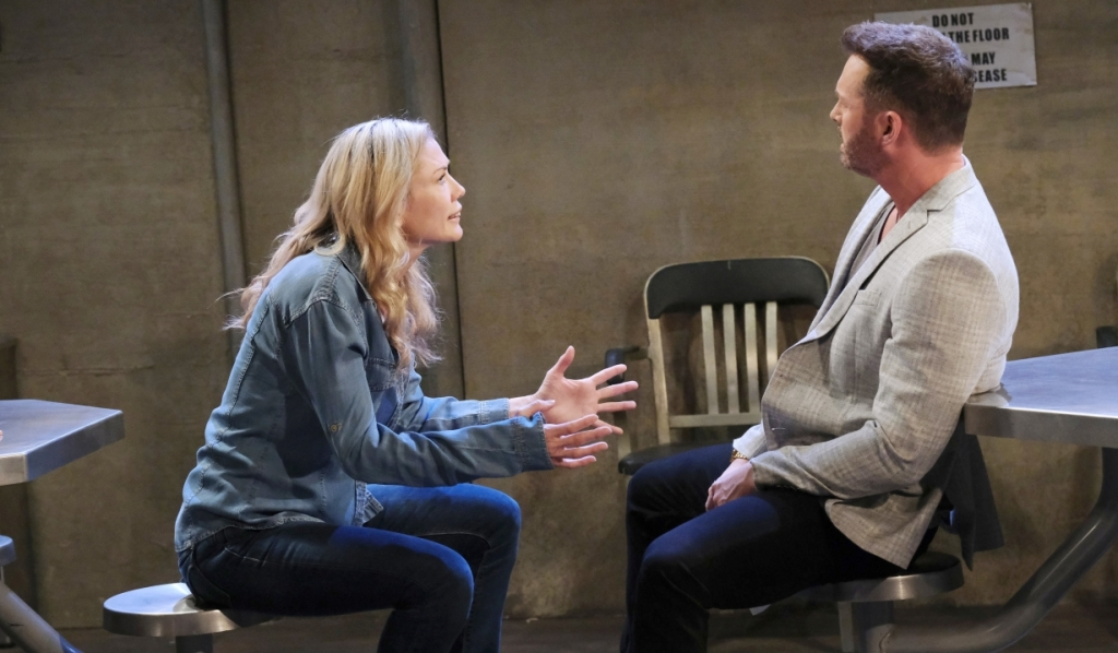 Brady is shocked to discover Susan in disguise in prison Days of our Lives