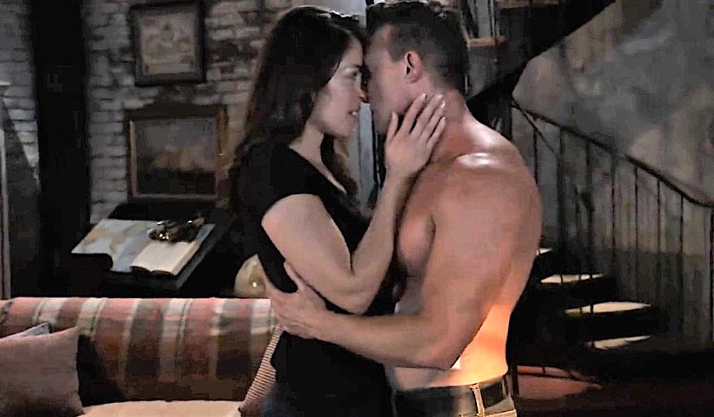 Britt and Jason make love GH