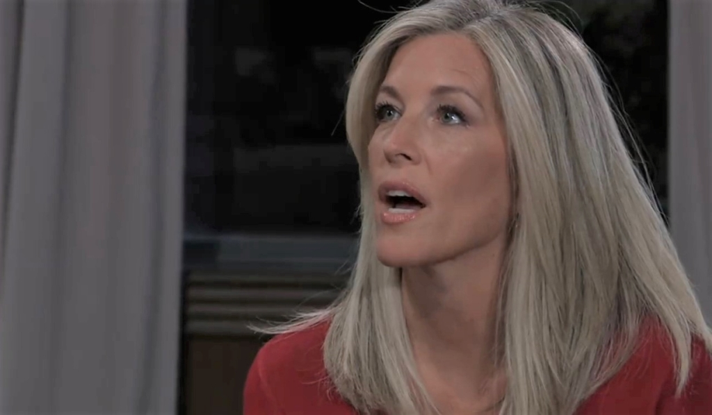 Carly asks Diane to revise her will at Corinthos compound General Hospital