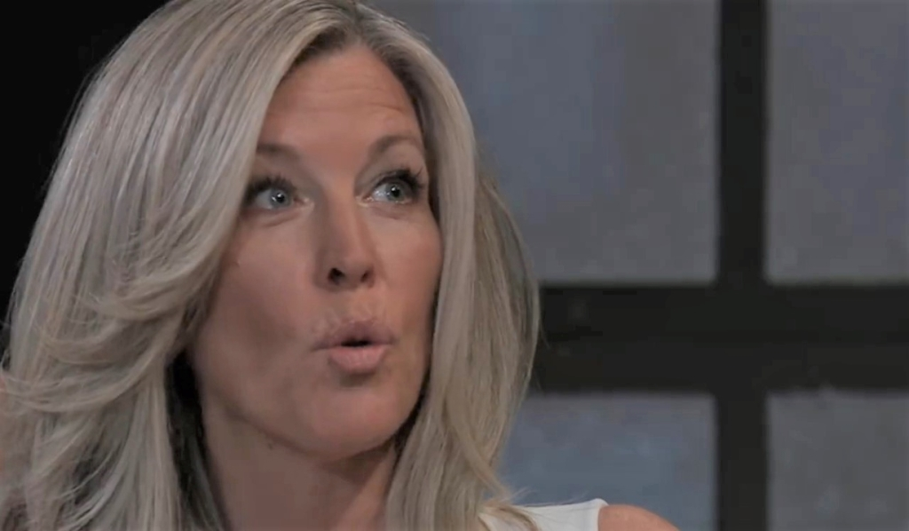 Carly threatens Cyrus at five families meeting General Hospital